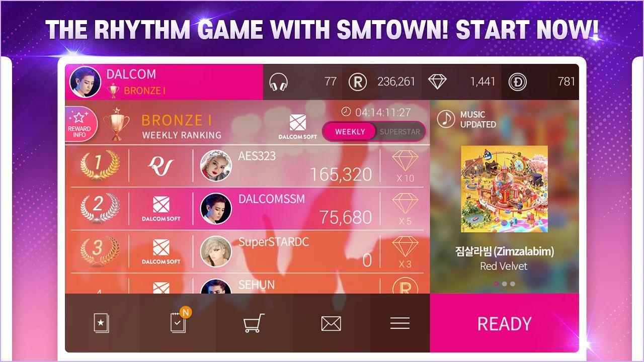 SuperStar SMTOWN(韩服) 游戏截图2