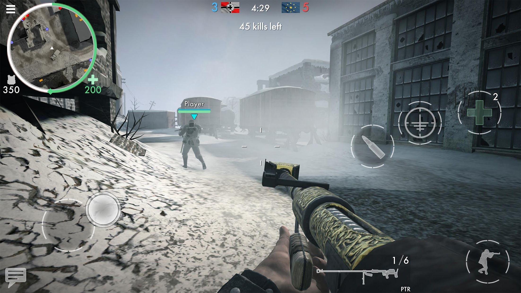 世界战争 - 英雄 游戏截图2
