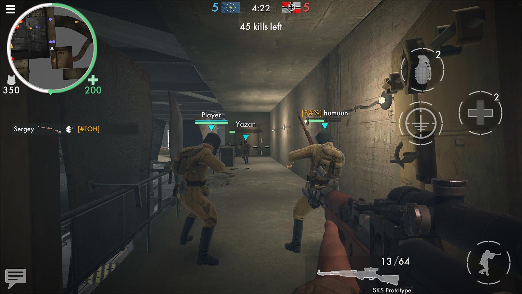 世界战争 - 英雄 游戏截图5