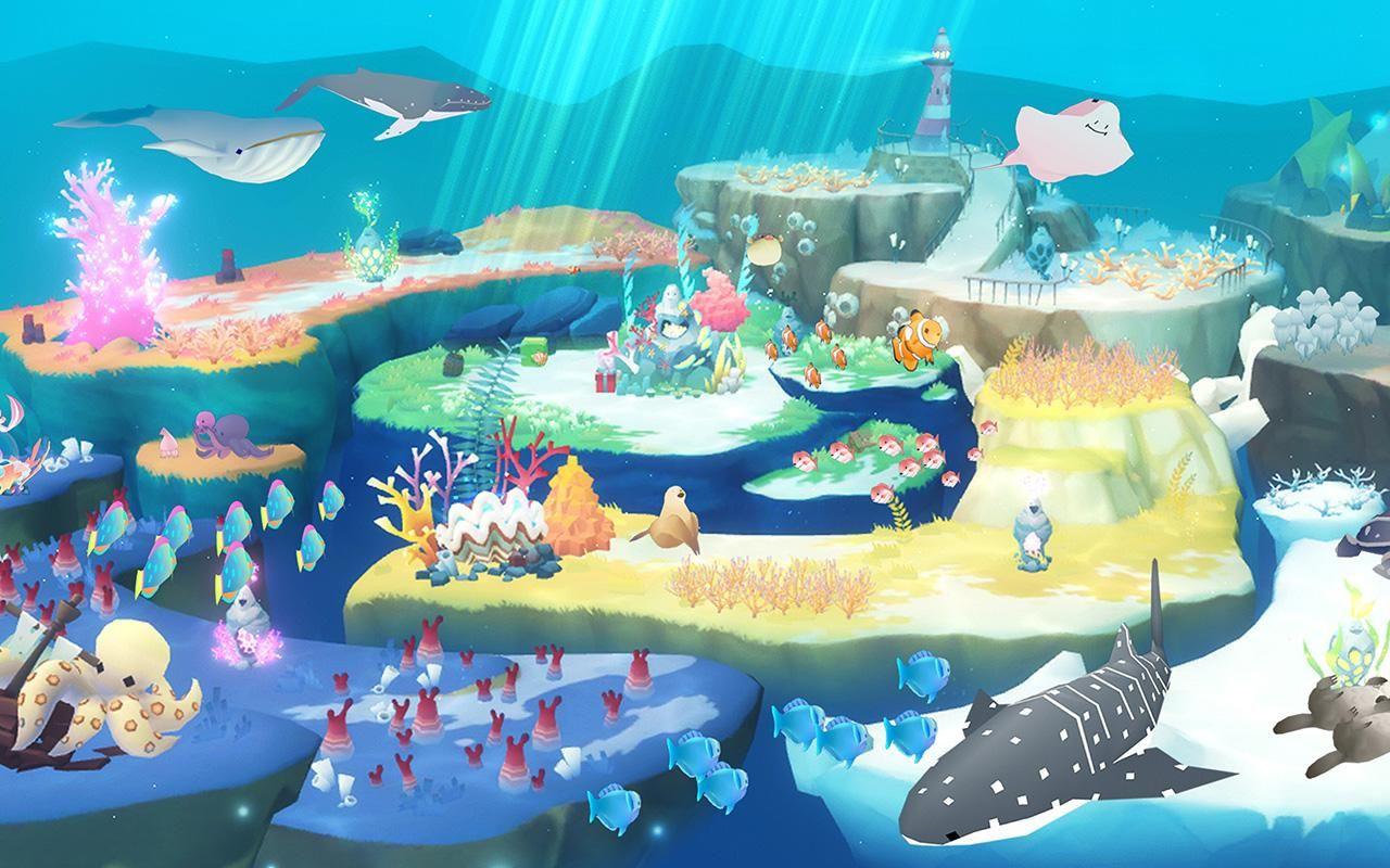 深海水族馆世界:点点可培养的水族馆(全球No.1治愈水族馆) 游戏截图1