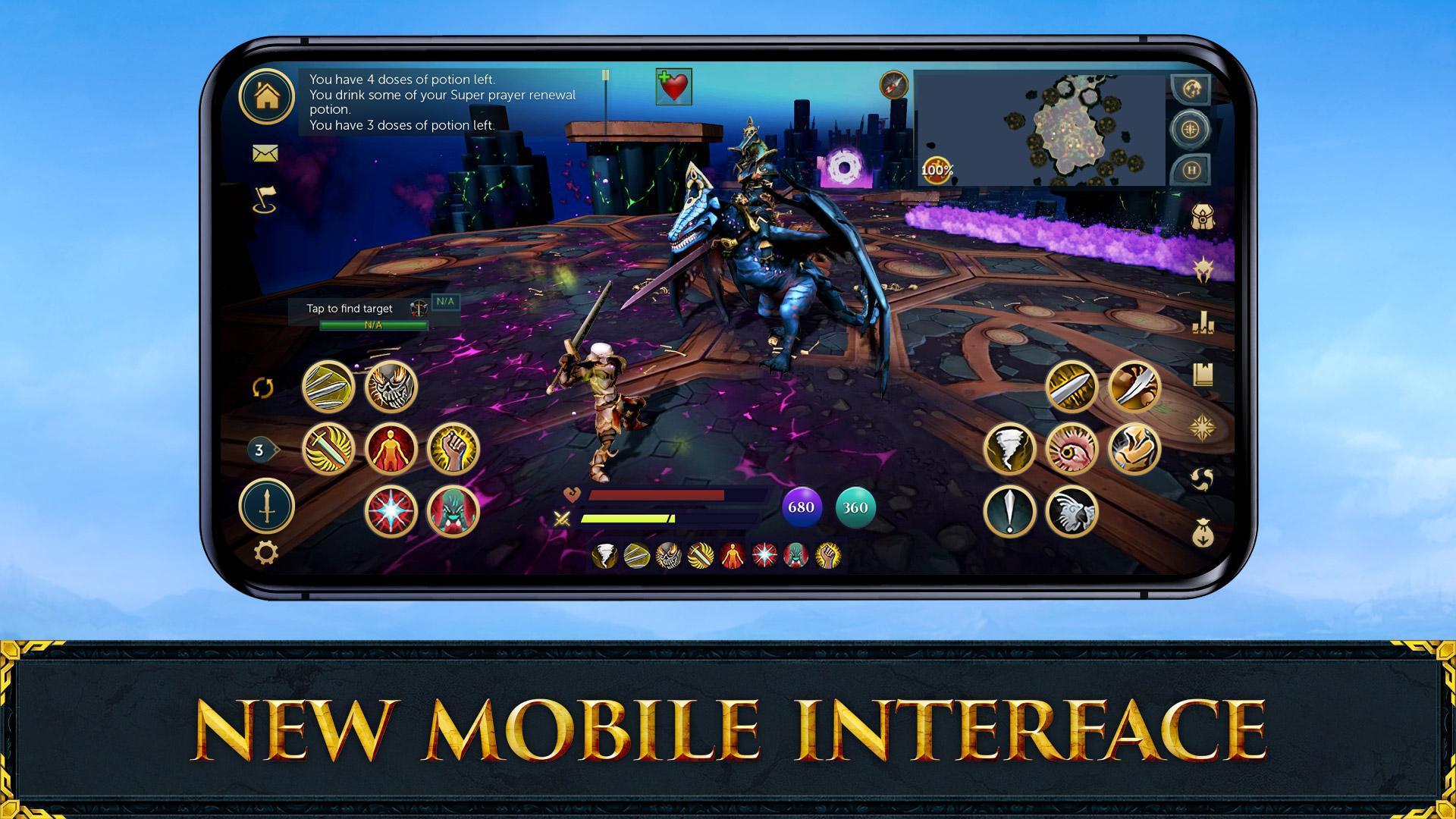 RuneScape Mobile 游戏截图1