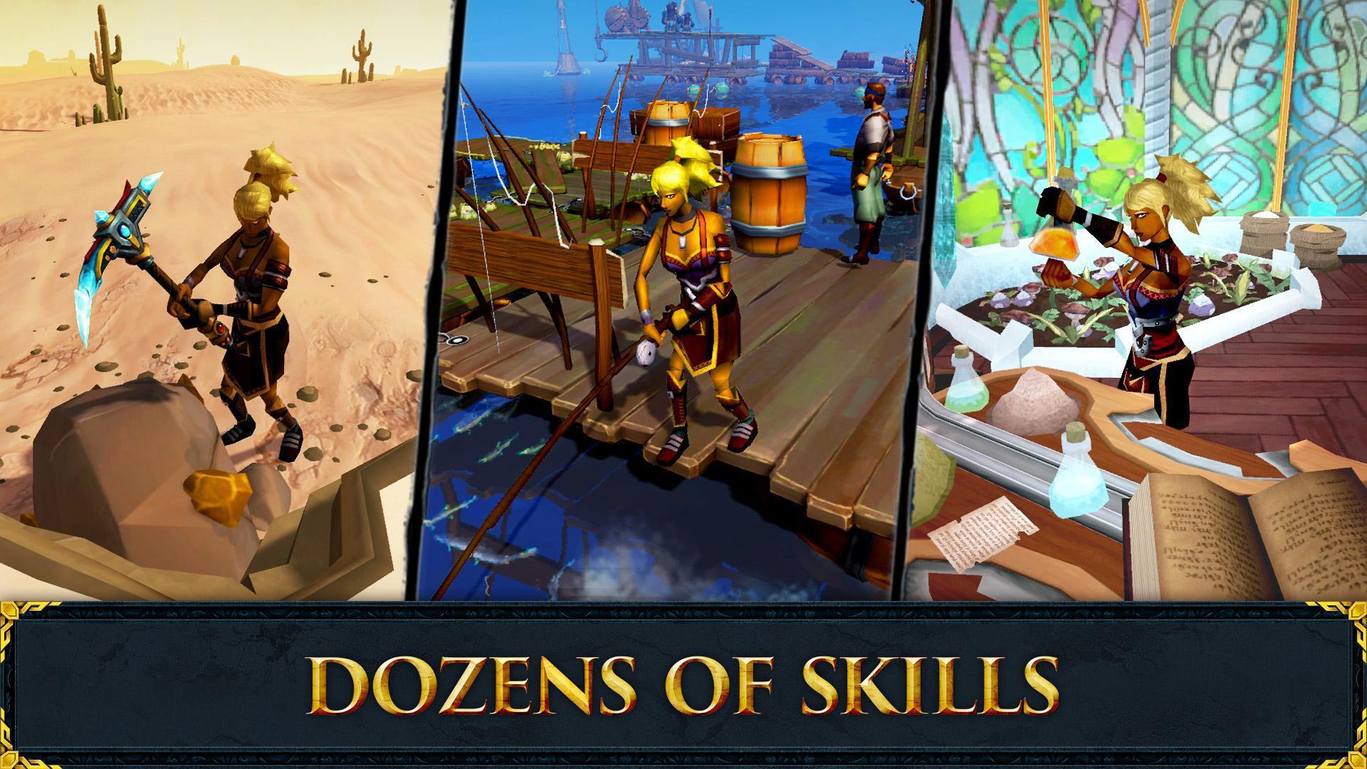 RuneScape Mobile 游戏截图5