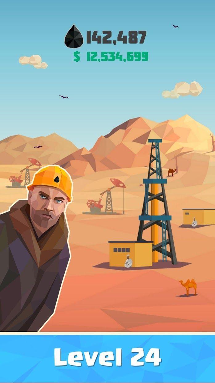 放置石油大亨:炼油厂模拟经营 游戏截图2