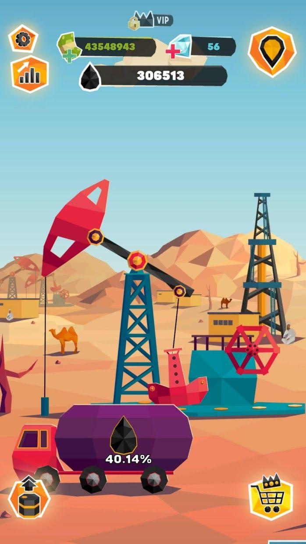 放置石油大亨:炼油厂模拟经营 游戏截图4