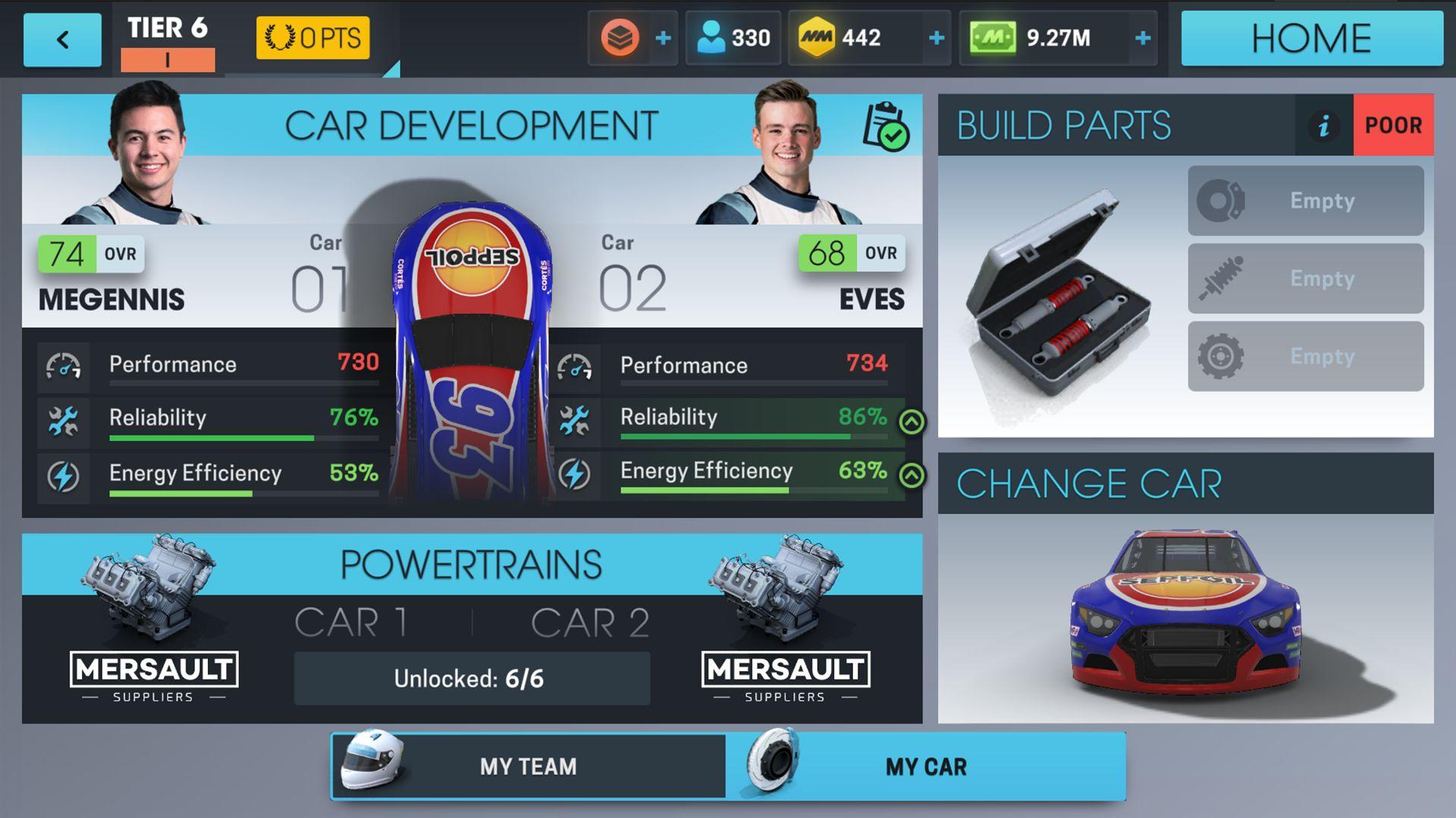 赛车经理 Online 游戏截图1