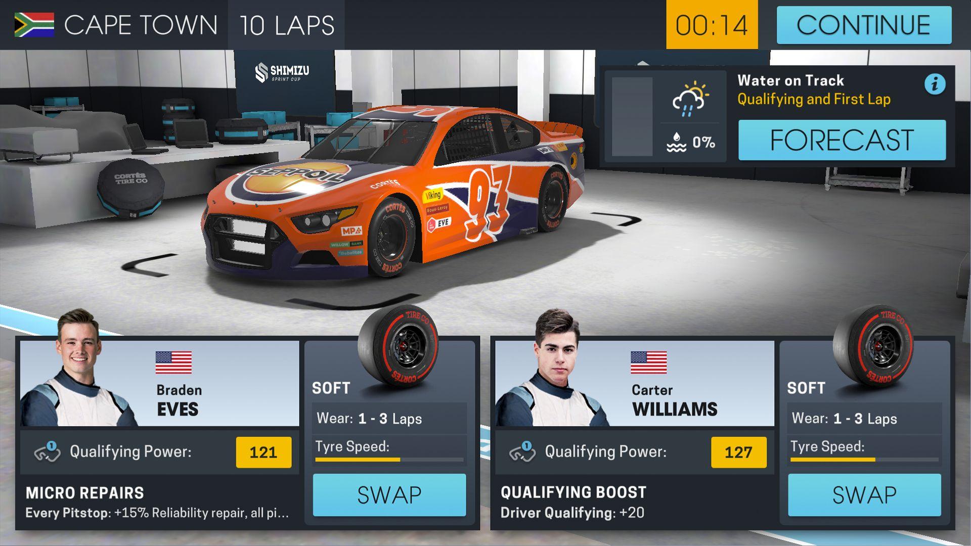 赛车经理 Online 游戏截图2