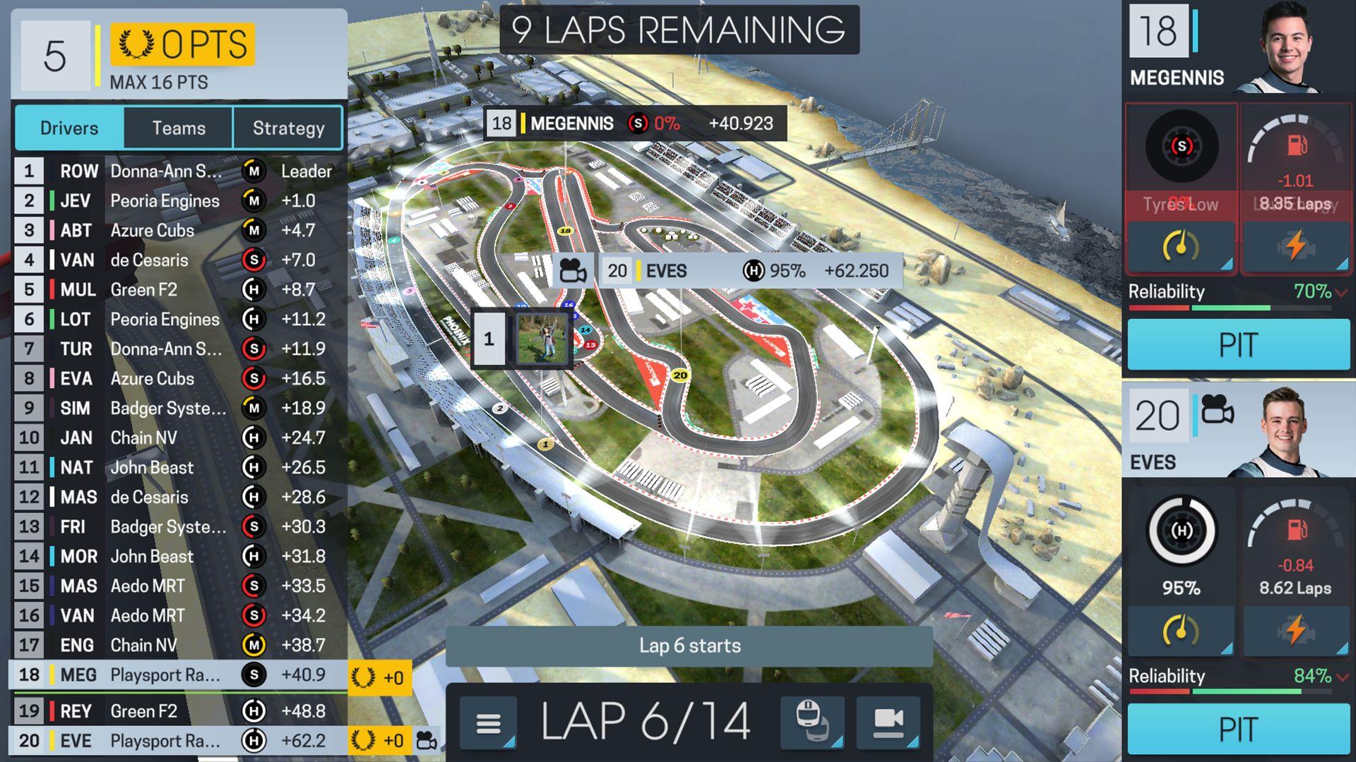 赛车经理 Online 游戏截图5