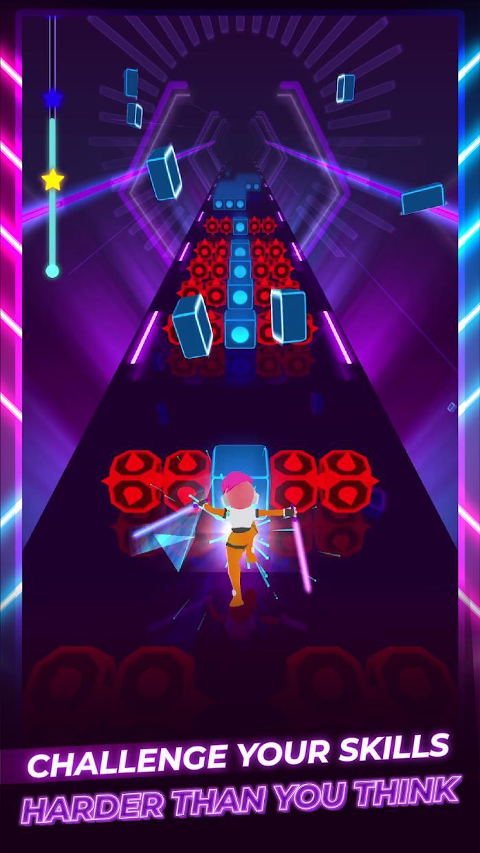 Beat Blader 3D: Dash and Slash 游戏截图2