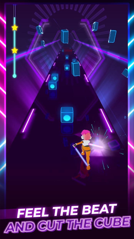 Beat Blader 3D: Dash and Slash 游戏截图3