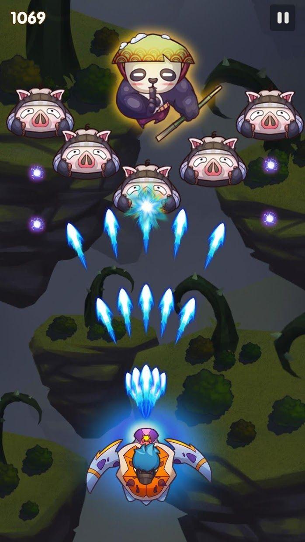 天空之冠: 怪物弹幕射击游戏 游戏截图1