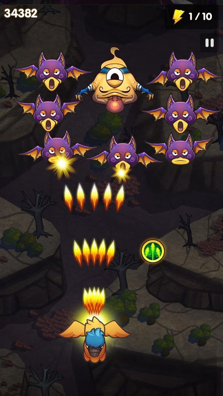 天空之冠: 怪物弹幕射击游戏 游戏截图3
