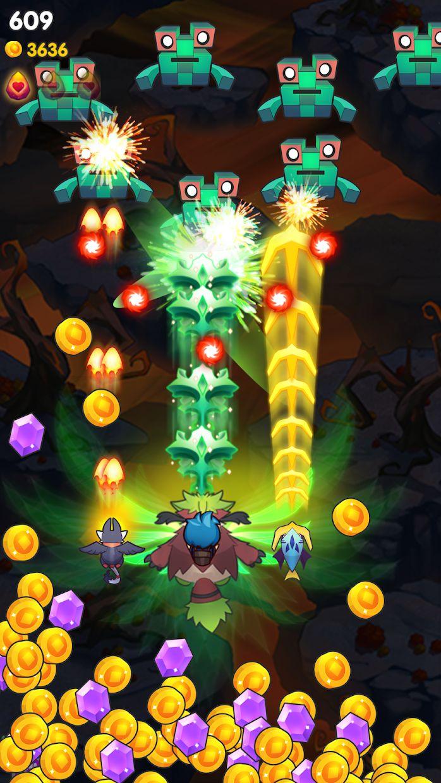 天空之冠: 怪物弹幕射击游戏 游戏截图5