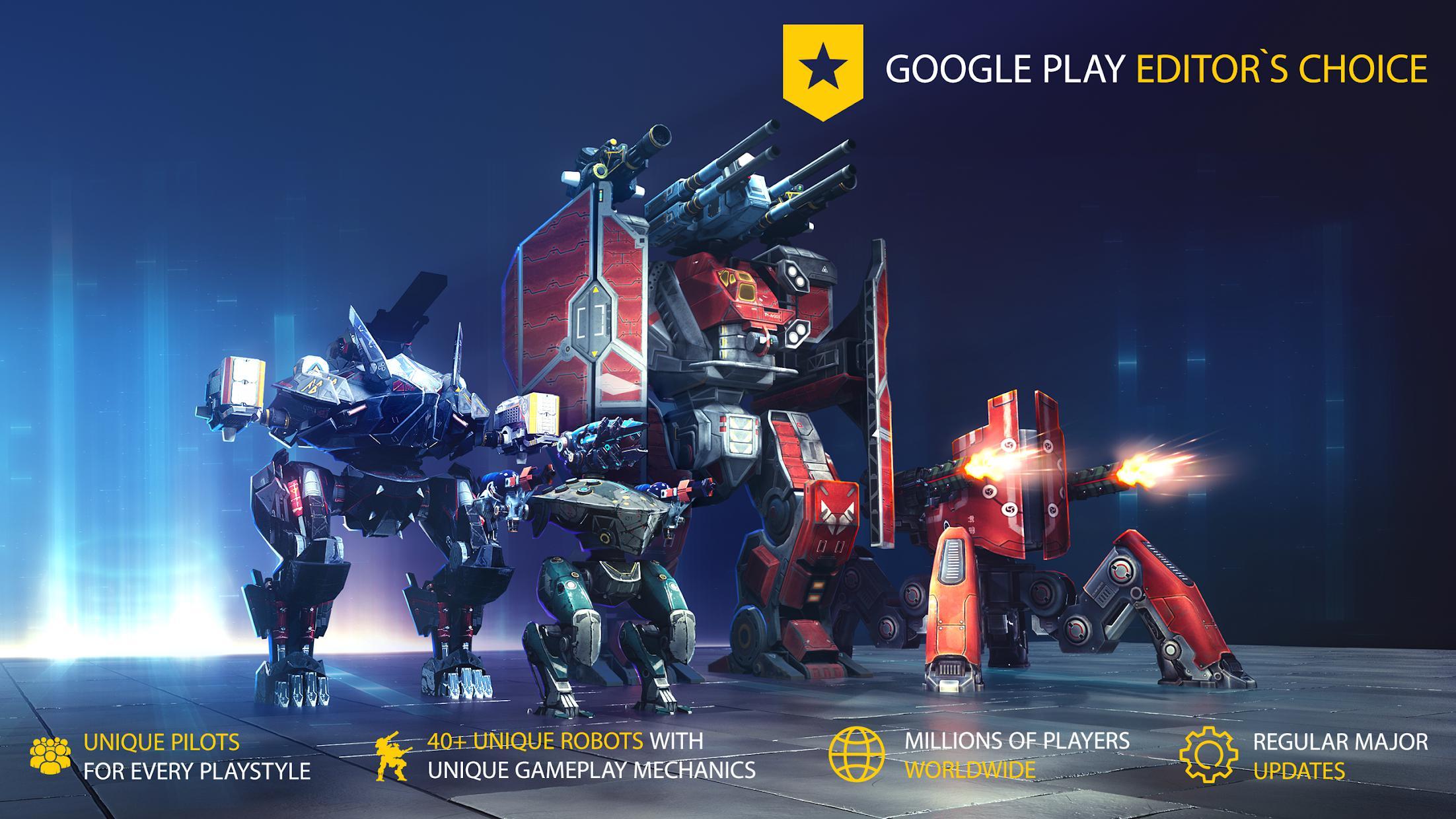机甲战队(测试版 原名:机器人战争) 游戏截图1