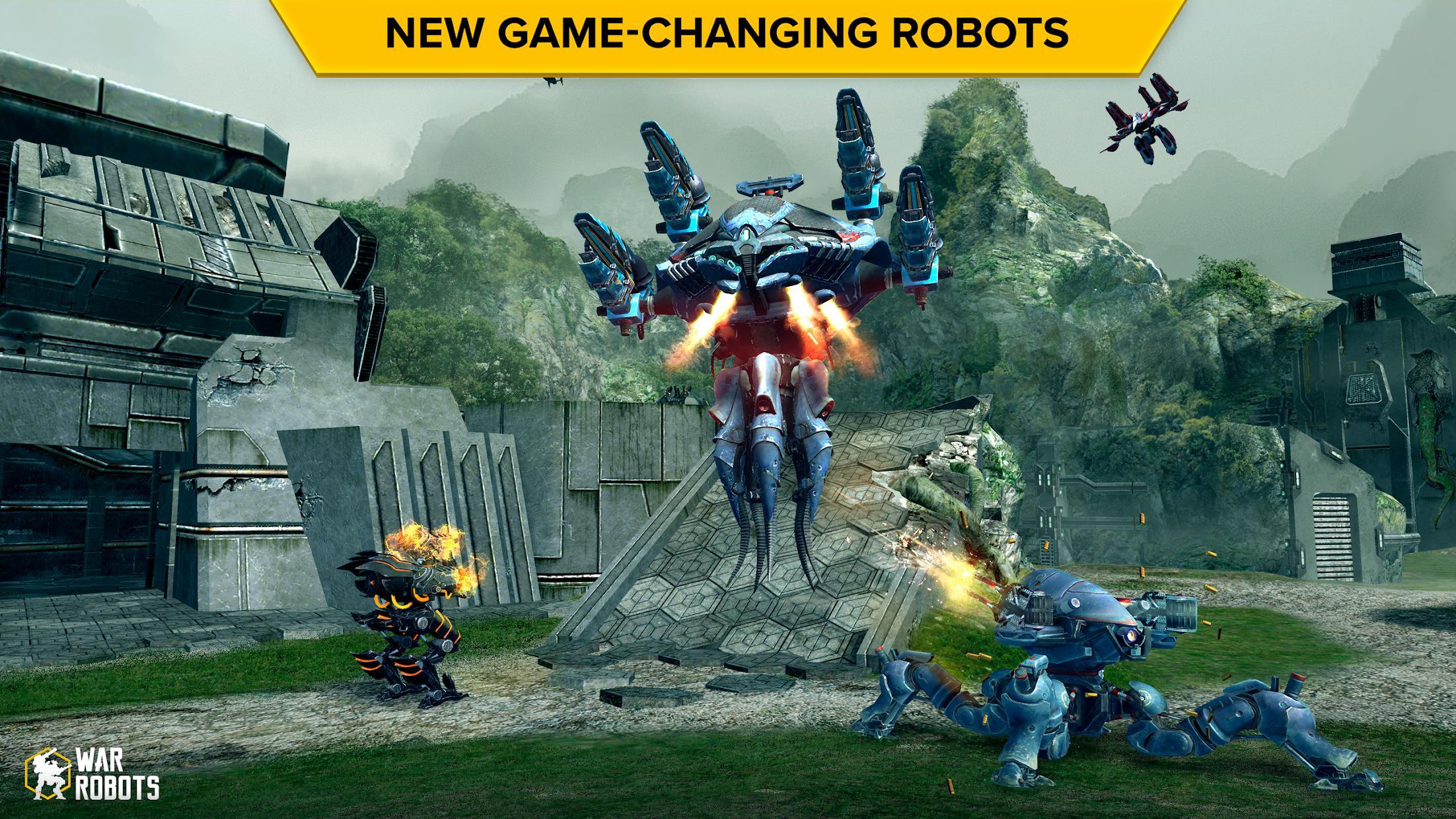 机甲战队(测试版 原名:机器人战争) 游戏截图2