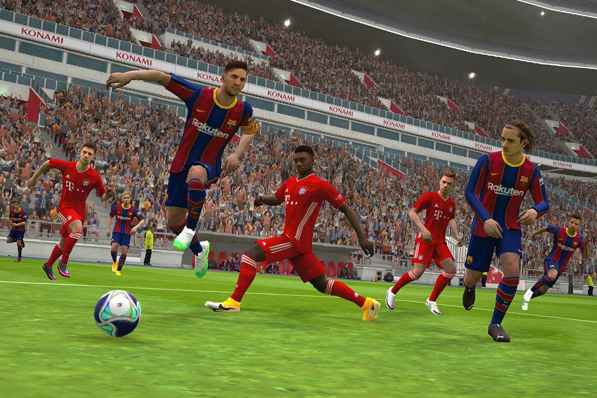 实况足球2021 游戏截图1