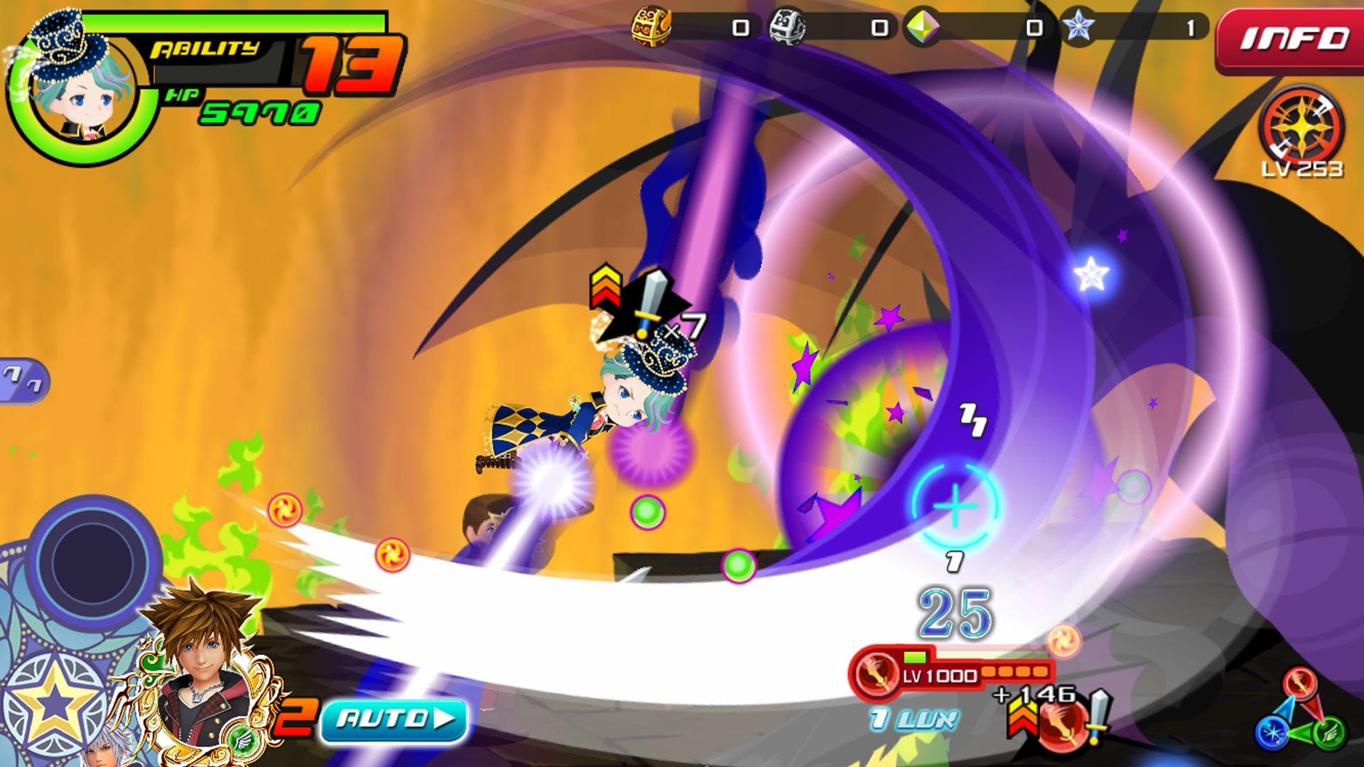 王国之心:联盟 X 黑暗之路(日服) 游戏截图3