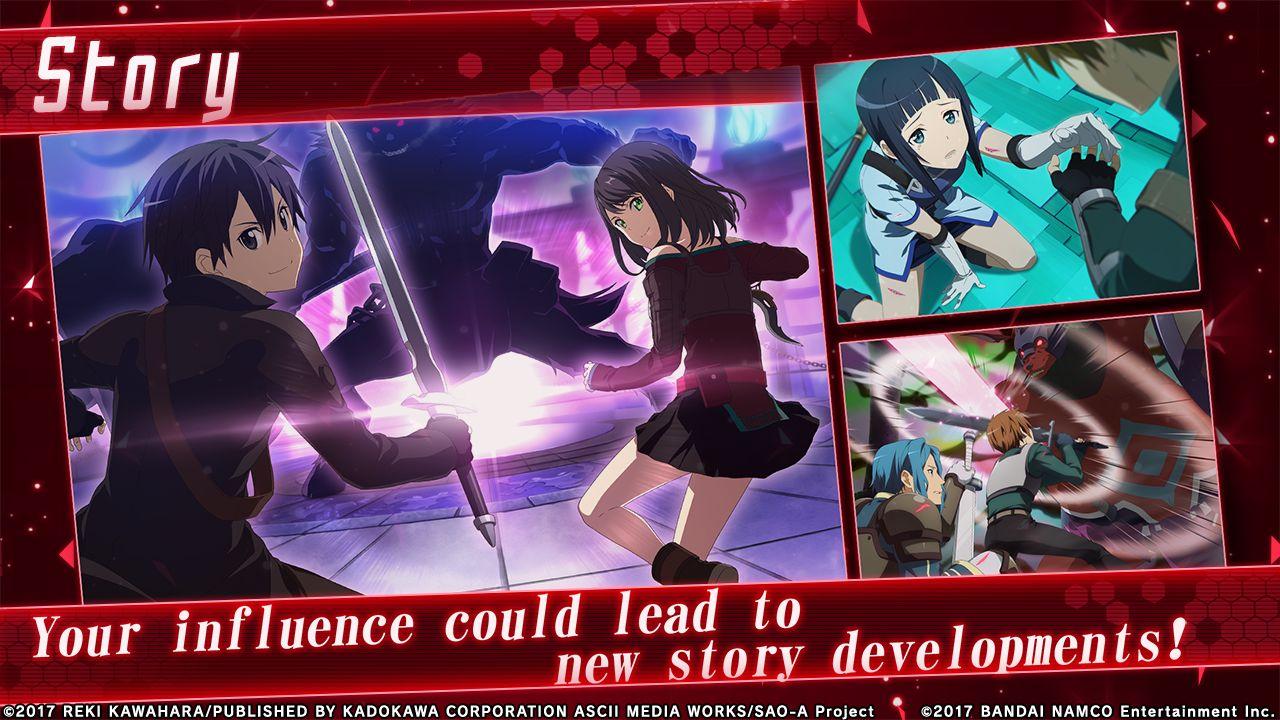 刀剑神域:关键斗士(SAO IF 台服) 游戏截图3