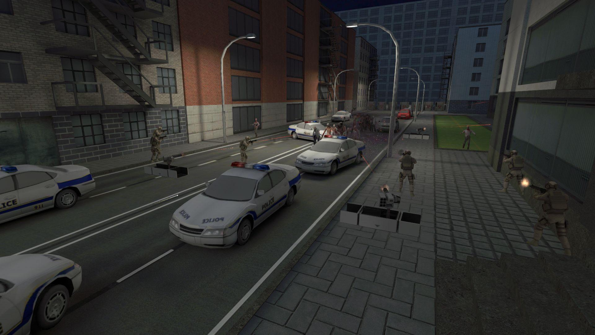 僵尸作战模拟 游戏截图1