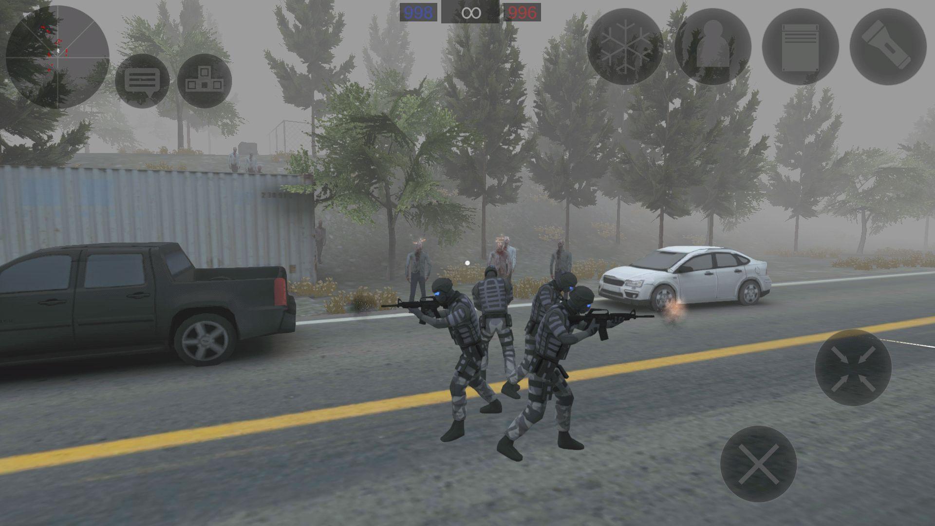 僵尸作战模拟 游戏截图3