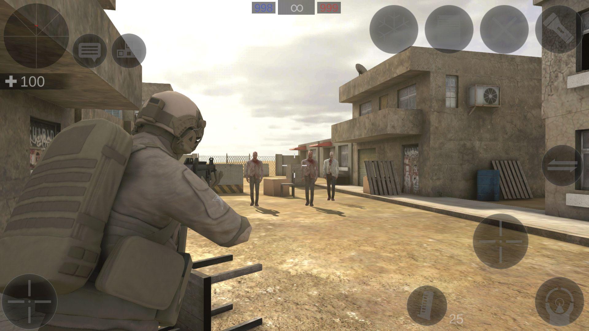 僵尸作战模拟 游戏截图5