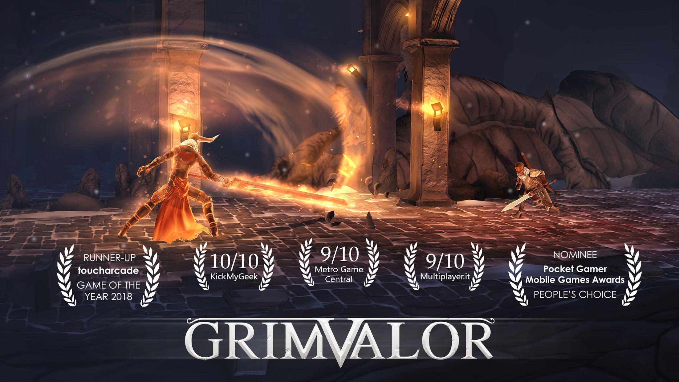 原界之罪 Grimvalor(国际服) 游戏截图1