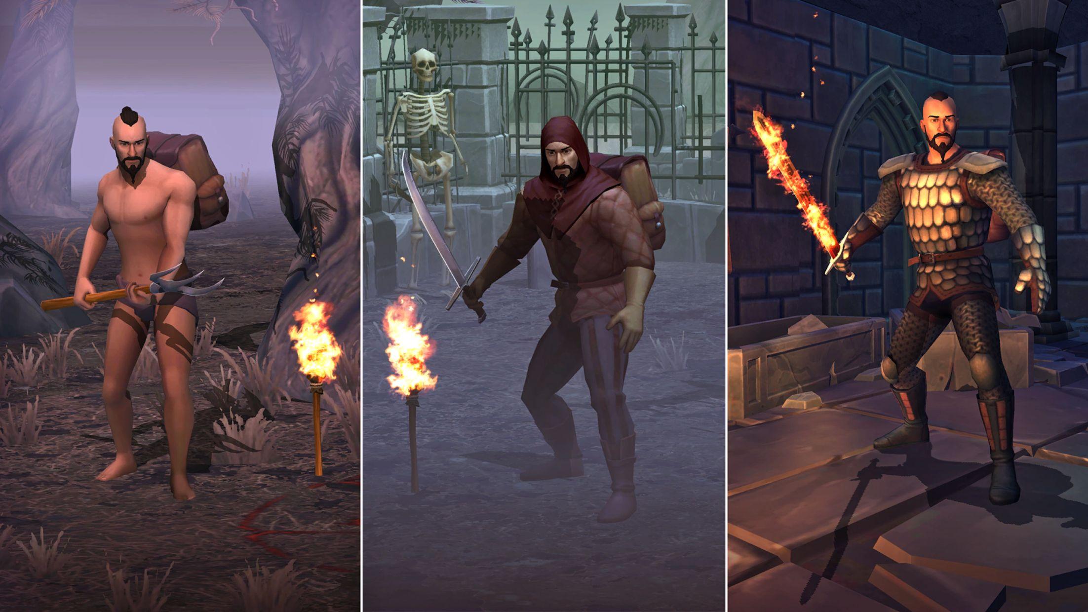冷酷灵魂:黑暗幻想生存游戏 游戏截图4