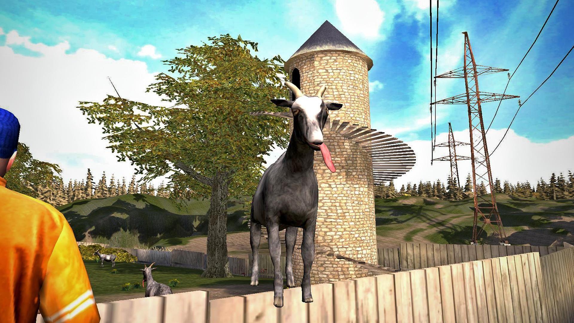 模拟山羊 免费版 游戏截图1