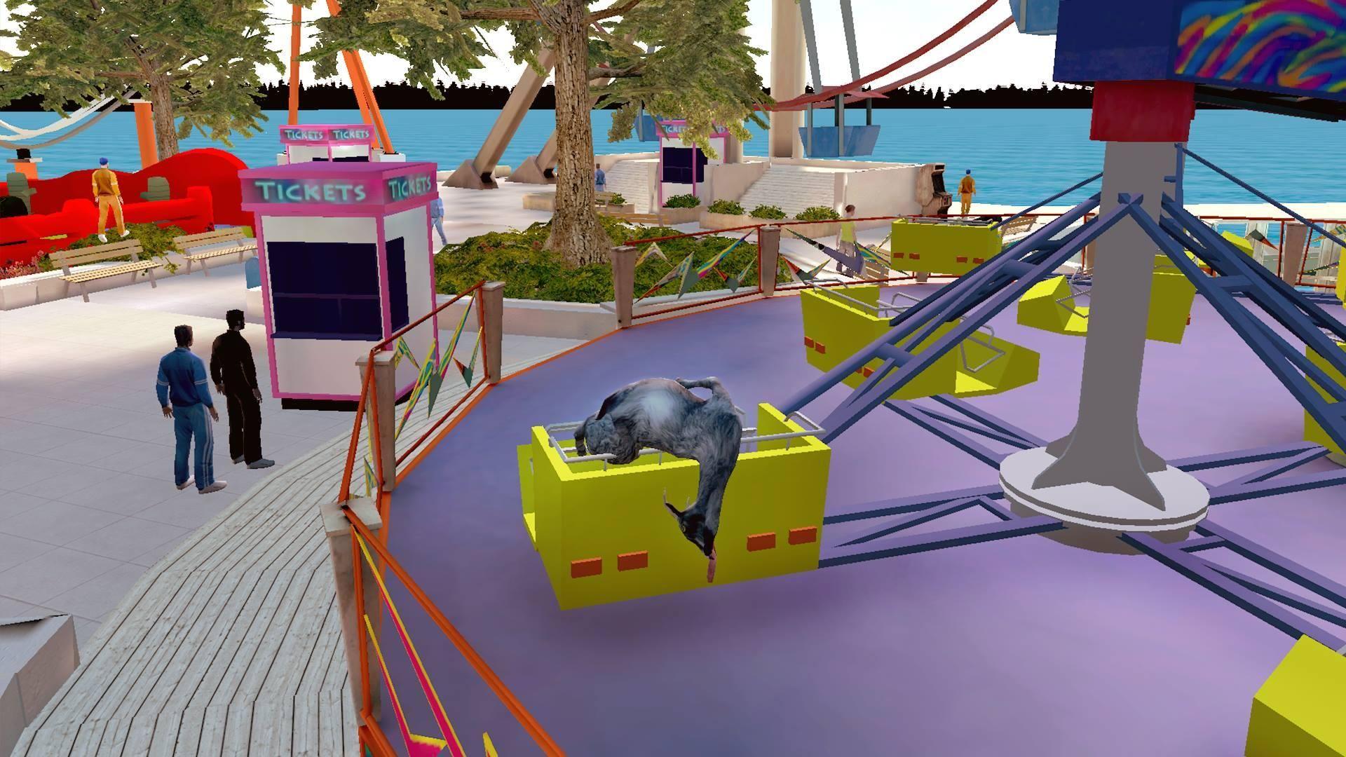 模拟山羊 免费版 游戏截图2