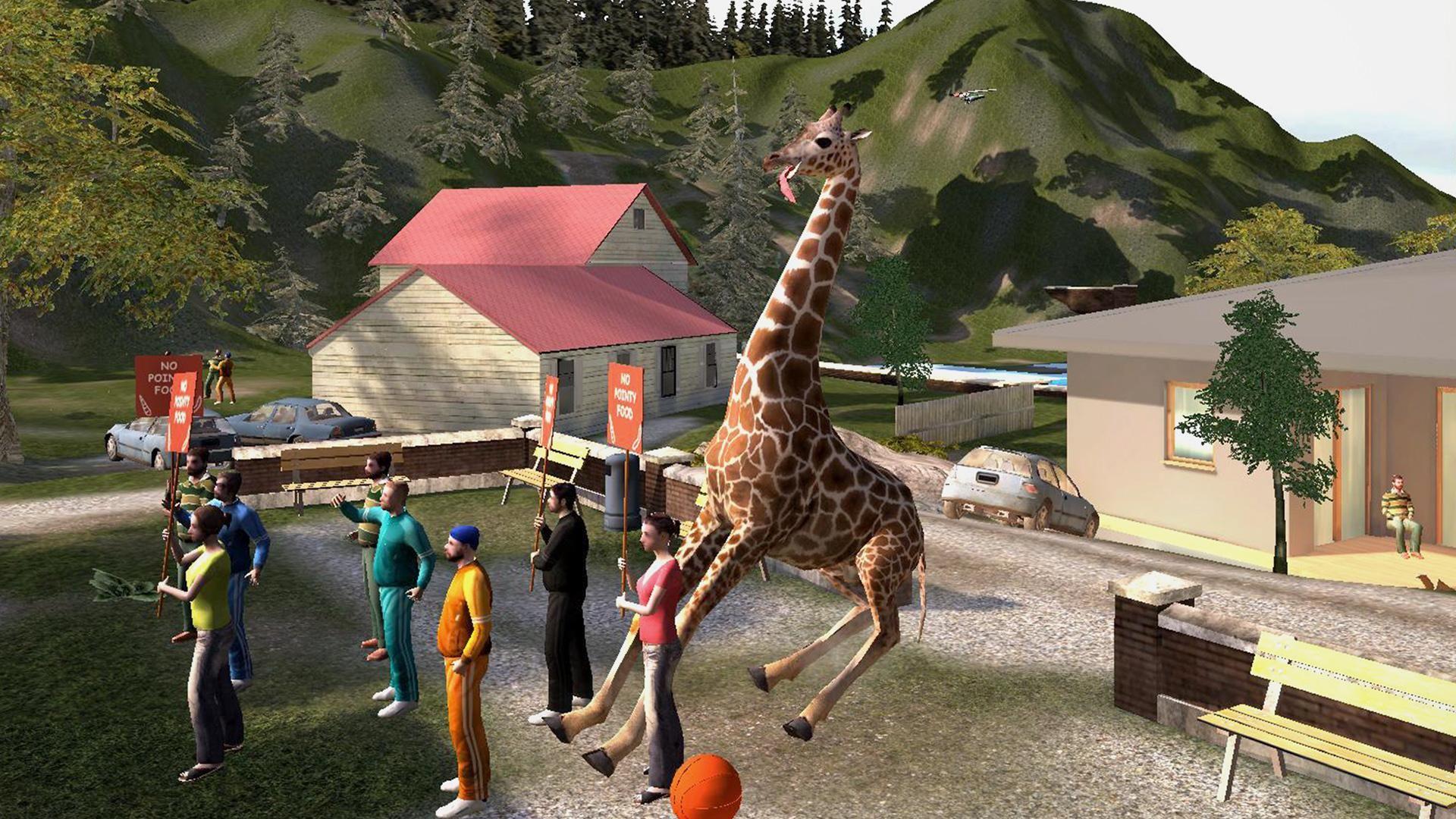 模拟山羊 免费版 游戏截图3