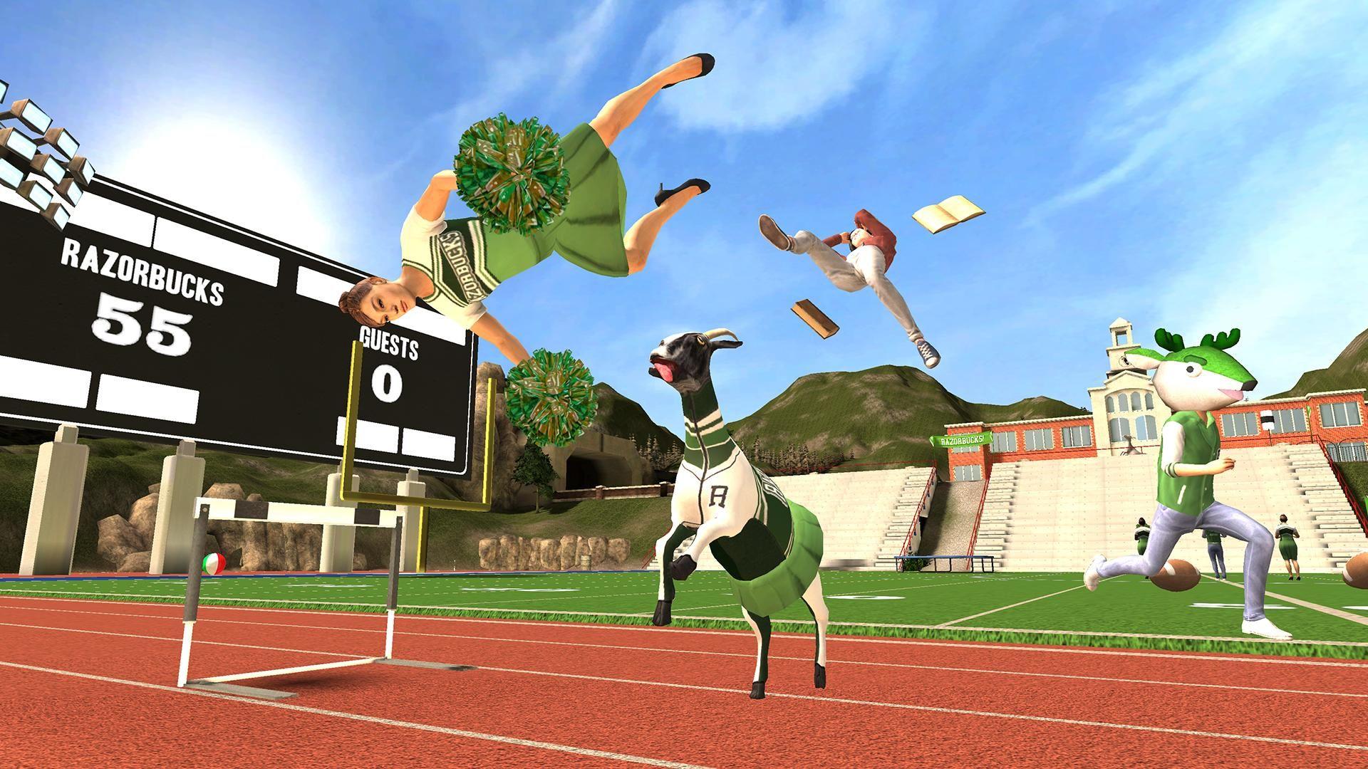 模拟山羊 免费版 游戏截图4