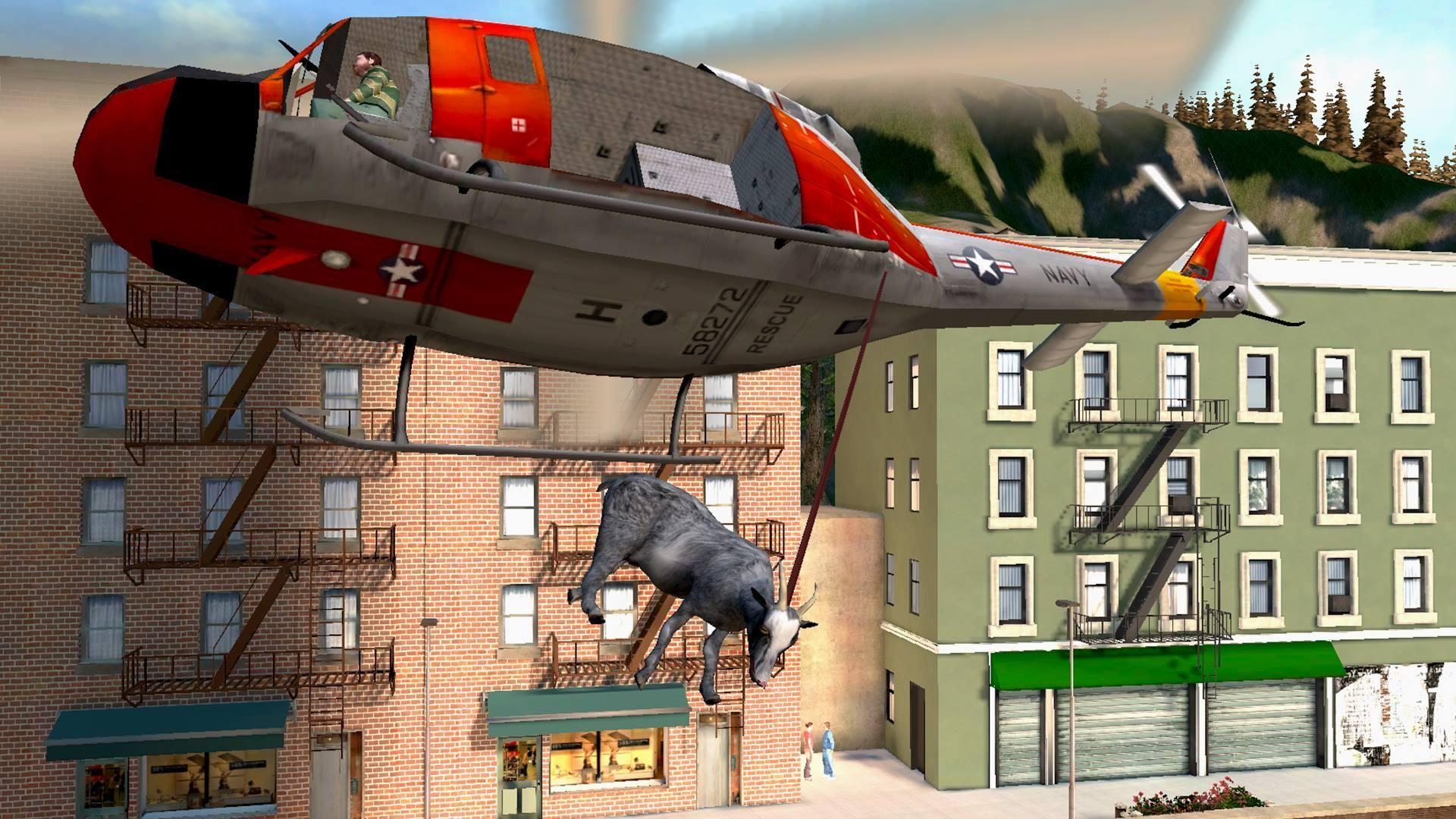 模拟山羊 免费版 游戏截图5