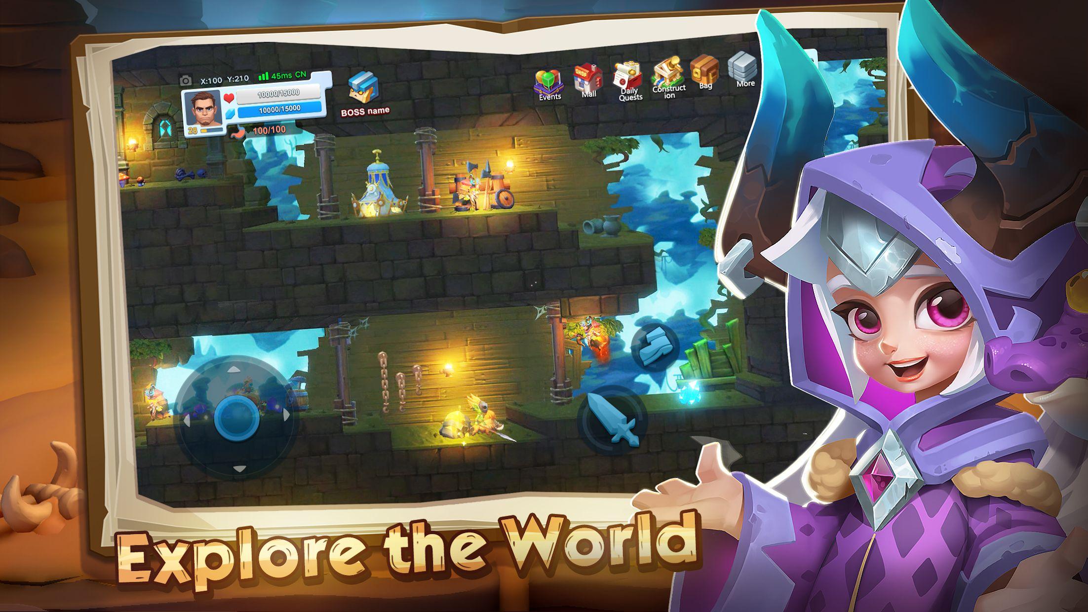 Craft Legend: Epic Adventure 游戏截图1