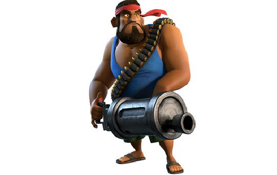 海岛奇兵火箭炮手胖子介绍,让你发挥出火箭炮手的威力