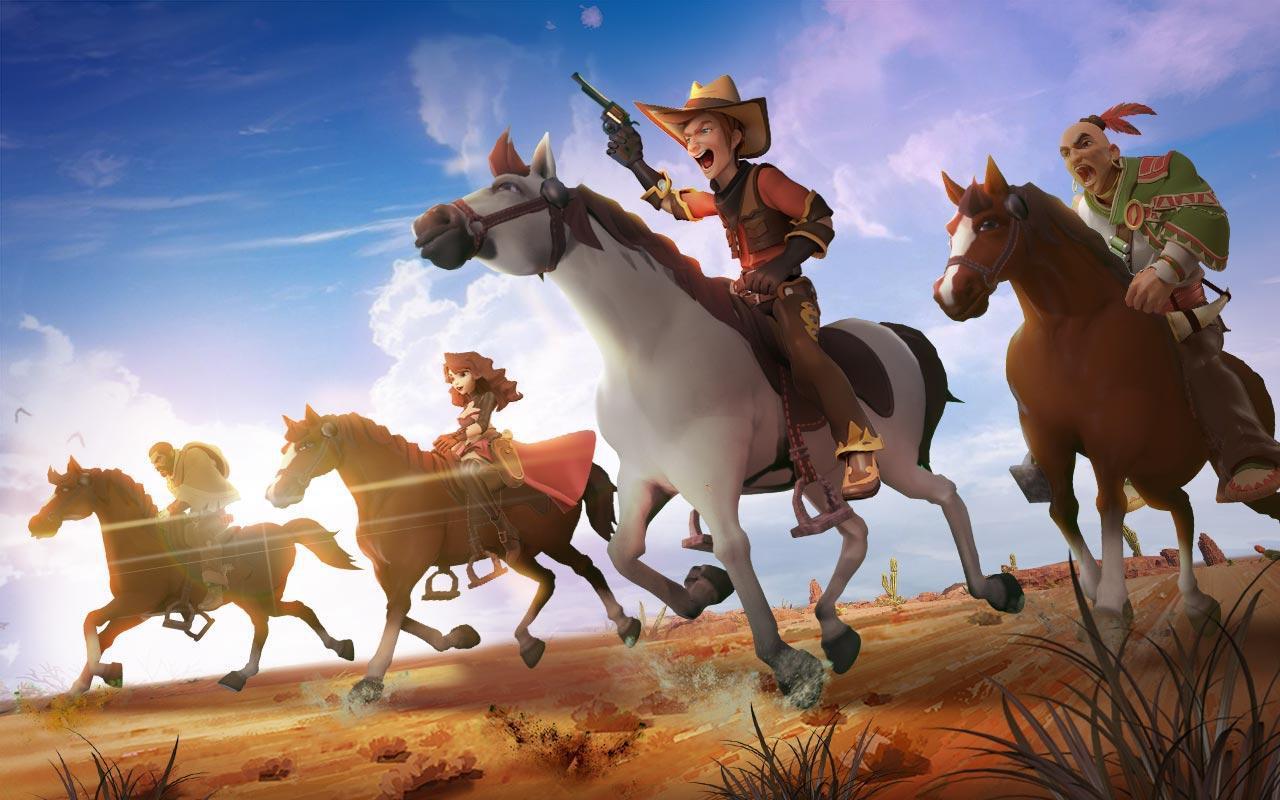 西部英雄 游戏截图1