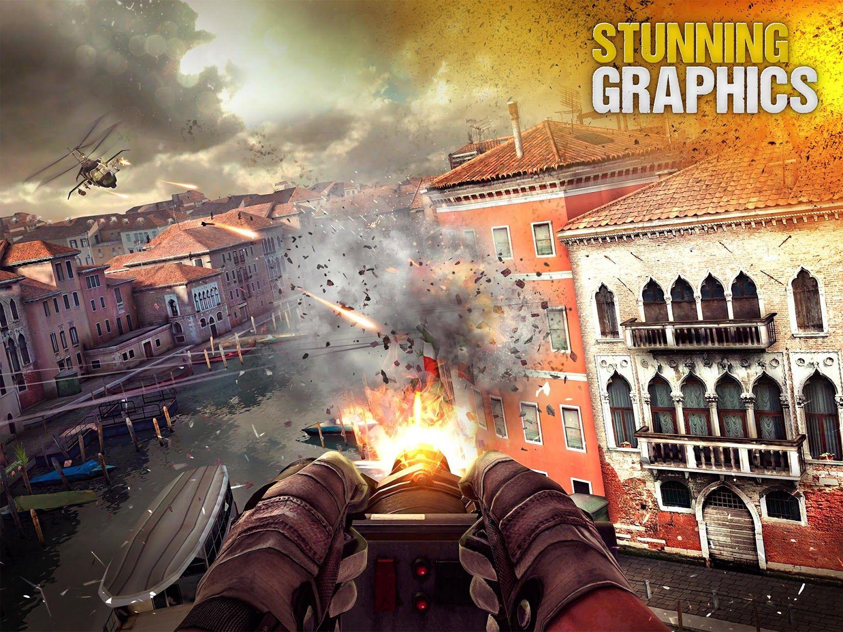 现代战争5:多人电竞射击游戏 游戏截图5