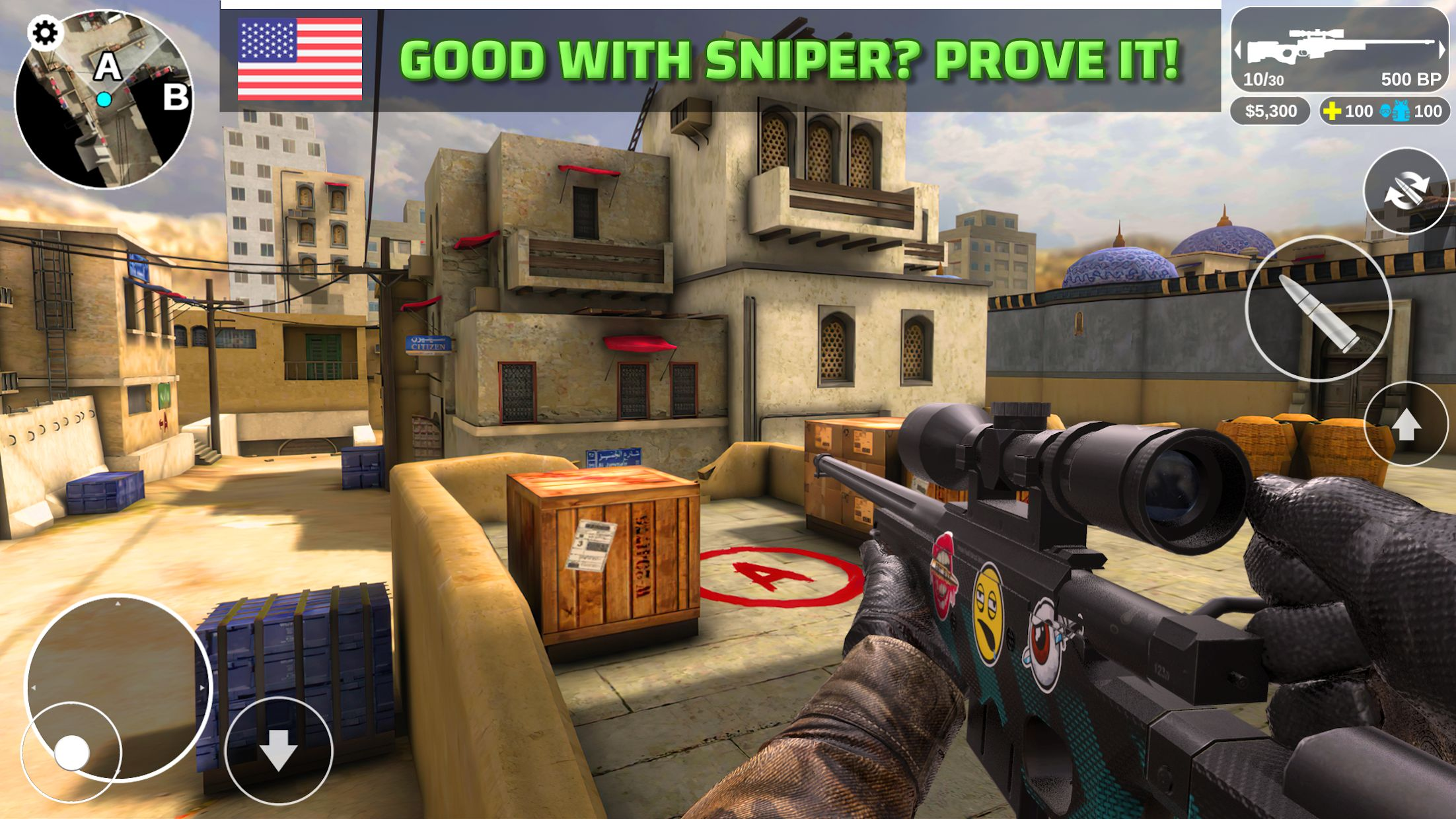 Counter Attack - Multiplayer FPS 游戏截图4