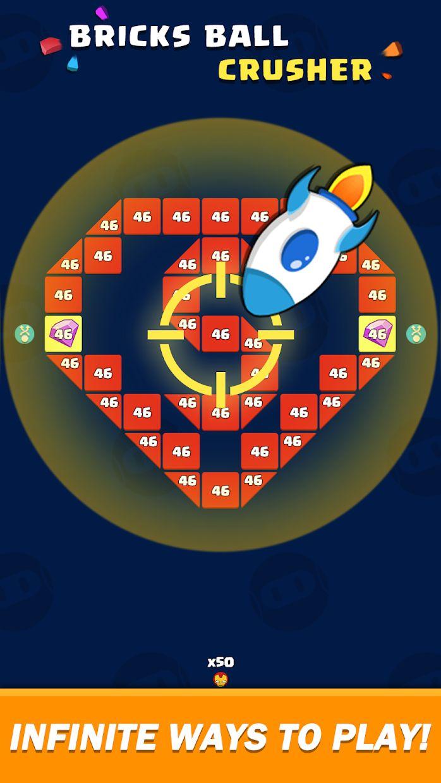 Bricks Ball Crusher 游戏截图4