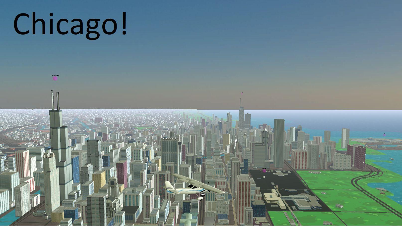 3D地球飞行模拟器 游戏截图1