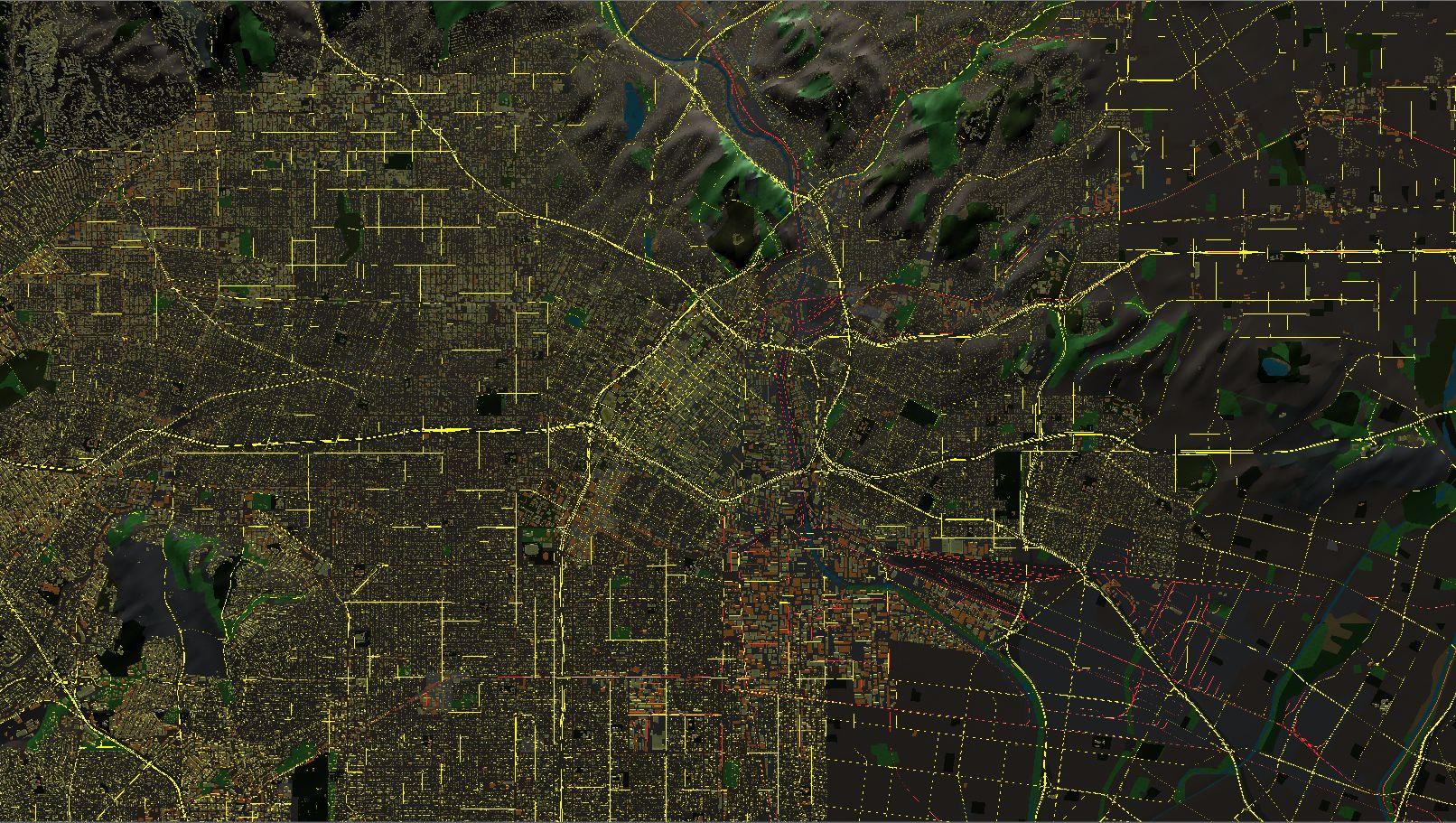 3D地球飞行模拟器 游戏截图5