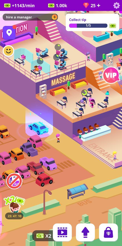 空闲美容院:头发和指甲客厅模拟器 游戏截图4