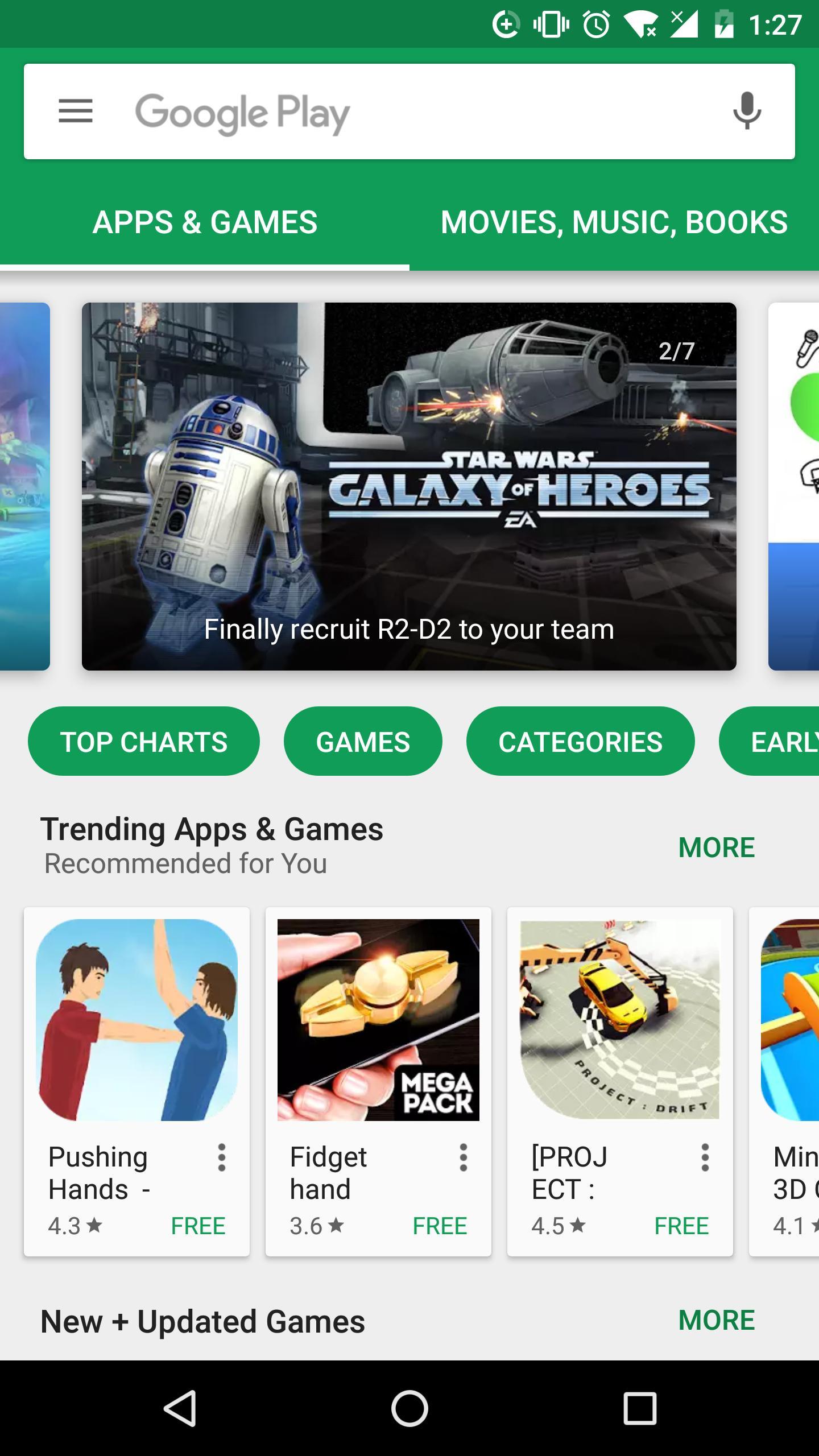 谷歌商店 游戏截图1
