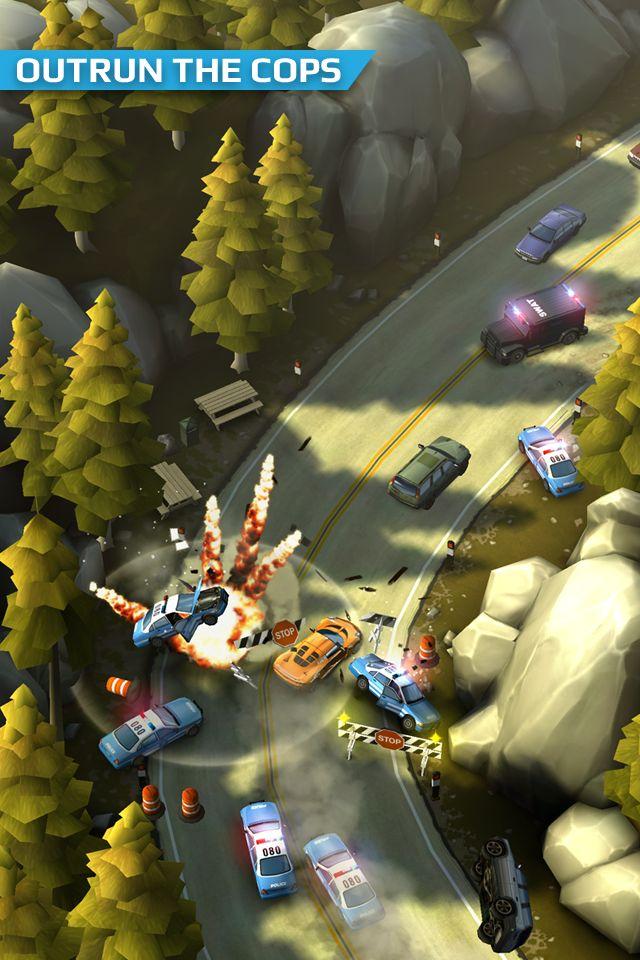 Smash Bandits Racing 游戏截图3
