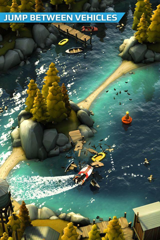Smash Bandits Racing 游戏截图5