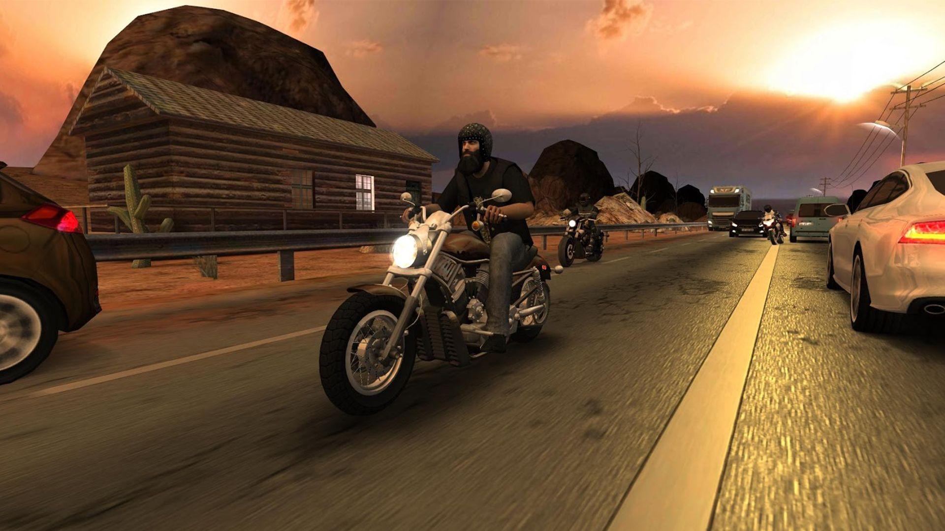 Racing Fever: Moto 游戏截图3