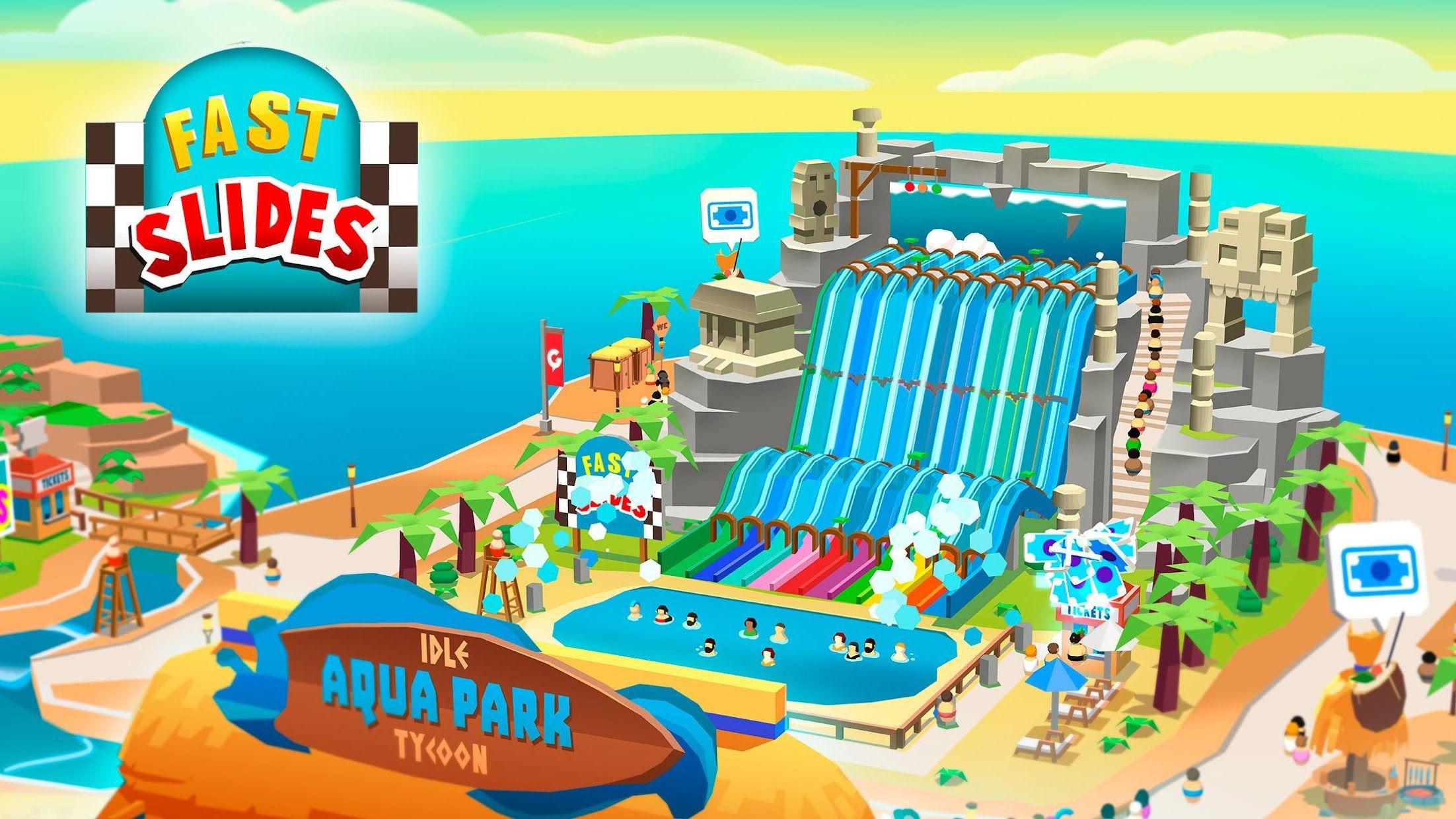 《Idle Theme Park》 - 大亨游戏 游戏截图1