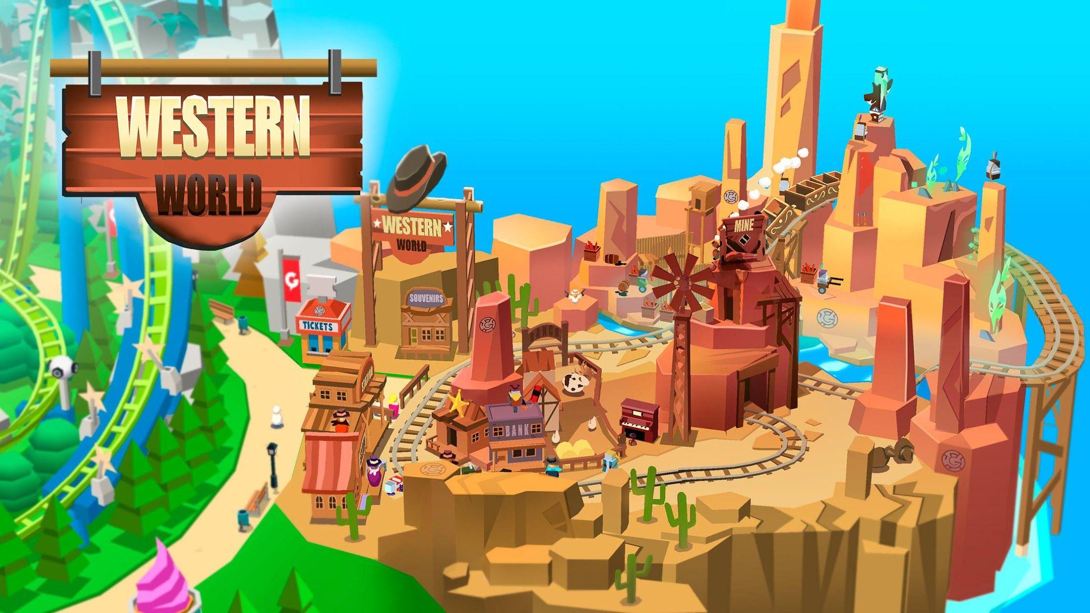 《Idle Theme Park》 - 大亨游戏 游戏截图4
