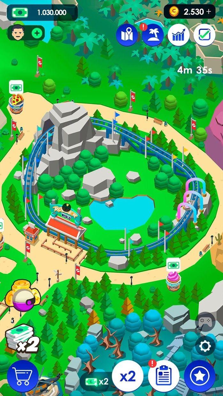 《Idle Theme Park》 - 大亨游戏 游戏截图5