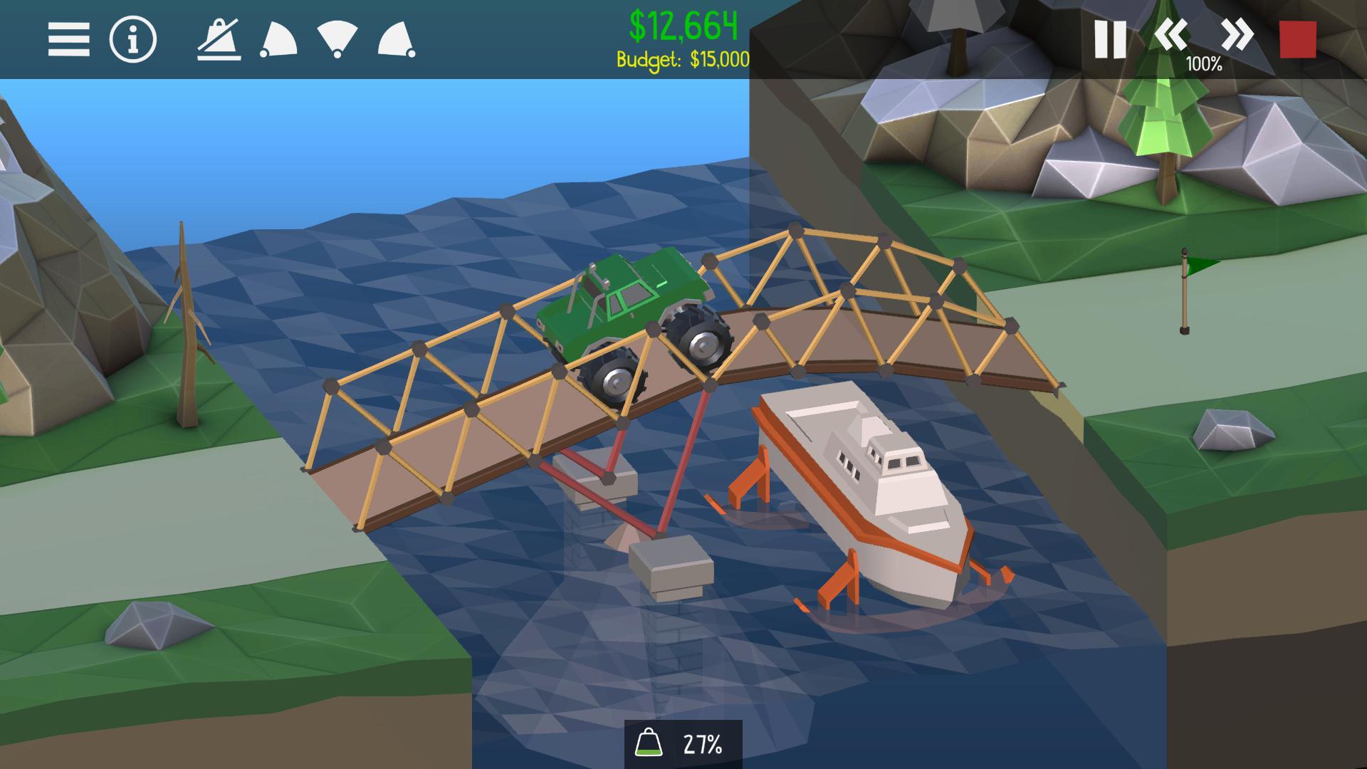 桥梁建造师2 游戏截图2