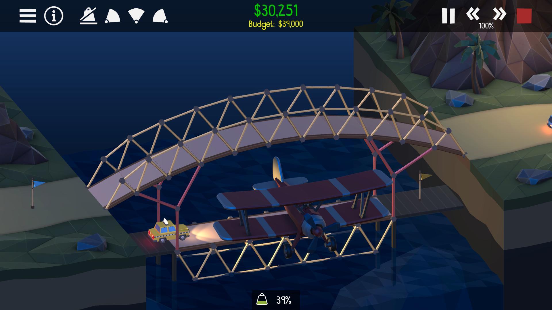 桥梁建造师2 游戏截图3