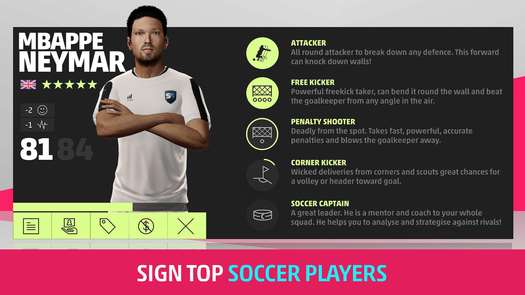 SEASON Pro Football Manager - Football Management 游戏截图3